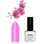 SHELLAK PANTERA 14 Розовый неоновый тон, матовый, плотный, очень яркий.