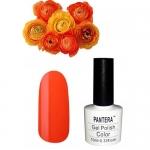 SHELLAK PANTERA  25 Апельсиновый неоновый тон, матовый, плотный, очень яркий.