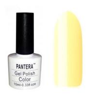 SHELLAK PANTERA 114 Теплый желтый пастельный тон, плотный и матовый