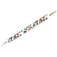 Дотц 2-сторонний ручка пластик цветы