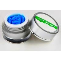 Гель 4д  Plastiline Pantera 5 мл №3 ярко-голубой