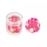 Слюда в баночке мягкая неон-розовая