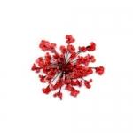 Сухоцветы в пакете Салютики красный (4214)