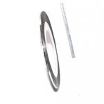 Фольга для дизайна в рулонах 20м*8мм №18 Серебро голография