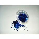 Слюда камифубуки ромбик р-р 1,5мм синие