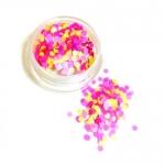 КОНФЕТТИ КАМИФУБУКИ МИКС ( разные цвета, один размер) НЕОН  розовый,сиреневый,желтый