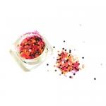 Конфетти камифубуки микс (разные цвета,разные размеры) розовый,салатовый,черный