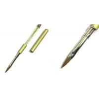 Кисть для акрила складная (ручка с бусинами)