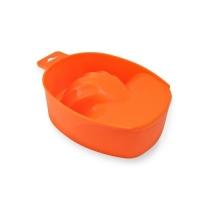 Ванночка для маникюра оранжевая