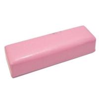 Подлокотник розовый 30*10*7 маленький кож.зам