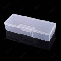 Пластиковый контейнер для хранения маникюрных инструментов и кистей