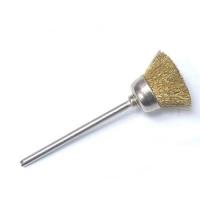 Щетка латунная для чистки фрез, золото