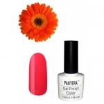 SHELLAK PANTERA  23 Красно-оранжевый плотный неоновый тон, матовый и очень яркий.