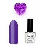 SHELLAK PANTERA 62  Темно-фиолетовый яркий тон, матовый, плотный, теплый тон.