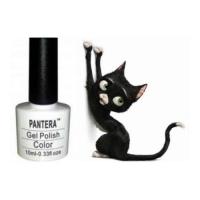 SHELLAK PANTERA 04S Плотный матовый черный тон.