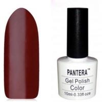 SHELLAK PANTERA  87  Плотный  темно- бордовый тон с микро блеском, супер стильный.