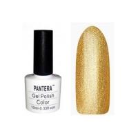 SHELLAK PANTERA  130 Яркое плотное золото -насыщенный, плотный.