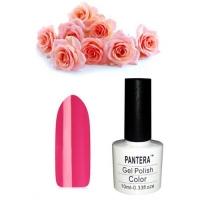 SHELLAK PANTERA 09 - F  Яркий, темно-розовый тон барби, матовый, плотный