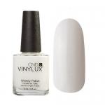 CND VINYLUX #151 STUDIO WHITE: белый (мягкий оттенок), без блесток, плотный, используется для французского маникюра.