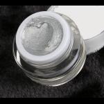 Гель 4д  Plastiline Pantera 5 мл №11 сверкающее серебро.