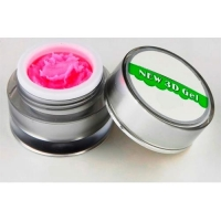 Гель 4д  Plastiline Pantera 5 мл №4 светло-розовый