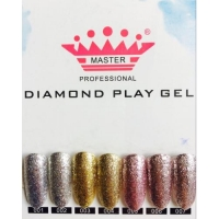 ГЕЛЬ DIAMOND PLAY GEL MASTER ДЛЯ НОГТЕЙ, №2, БАНКА 5Г