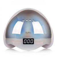 Лампа Sun5 48 Вт гибридная для гель лака и геля UV/LED Зеркальная металлик Mirror .