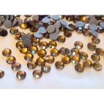 Стразы SS3 стекло плоские (Jonguil светло-желтые) уп/50 шт