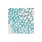 Стразы SS4/1, 5 мм стекло плоские(голубые ) уп/50шт