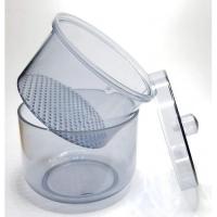 Пластик. бокс с крышкой для обработки и хранения фрез
