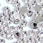 Стразы s3 (мелкие) белые 720шт, стекло, высокое качество, аналог Сваровски. НОВИНКА!!