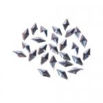КЛЕПКИ «ЛЕПЕСТКИ» ДЛЯ ДЕКОРИРОВАНИЯ (РОМБИКИ СЕРЕБРО)