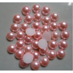 Стразы полужемчужины пластиковые d.1.5-2мм уп/50шт нежно-розовые