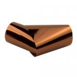 Фольга переводная  бронза , рулон , р-р1м на 2 см
