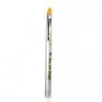 Кисть с прозрачной ручкой для геля №10 (основная рабочая)