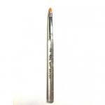 Кисть с прозрачной ручкой для геля №2 (основная рабочая)