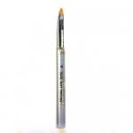 Кисть с прозрачной ручкой для геля №4 (основная рабочая)