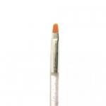 Кисть с прозрачной ручкой для геля №6 (основная рабочая)