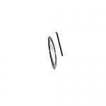 Фольга для дизайна в рулонах 20м*8мм №03 Черная