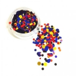 Конфетти камифубуки микс (разные цвета,разные размеры) синий,золото,красный