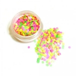 КОНФЕТТИ КАМИФУБУКИ МИКС ( разные цвета, один размер) НЕОН розовый,салатовый,желтый