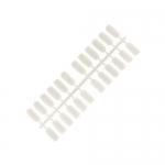 Запасные  сменные типсы для альбомов 120 шт матовые