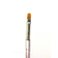 Кисть д/геля (овал) кристальная ручка с блестками № 8 НОВИНКА! Япония