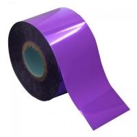Фольга переводная фиолетовая, рулон , р-р1м на 4 см