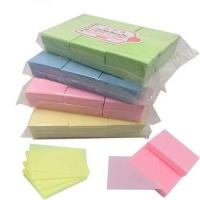 Салфетки безворсовые 1000 шт (6/4 см) розовые