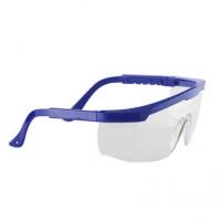 Очки защитные Classic с регулируемыми дужками, цвет синий