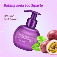 Отбеливающая гелевая зубная паста PASSION FRUIT