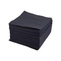 Салфетки 20*20, 40 г/м2 Cotton, 100 шт ЧЕРНЫЕ